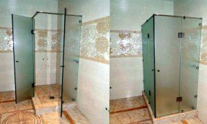 Где можно выбрать качественные душевые двери стеклянные?