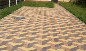 Как изготавливается тротуарная плитка?