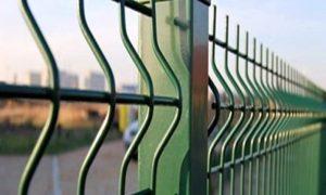 Как выглядит сварной 3д забор?
