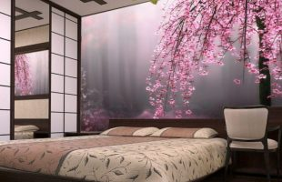 Как подобрать фотообои в спальню?